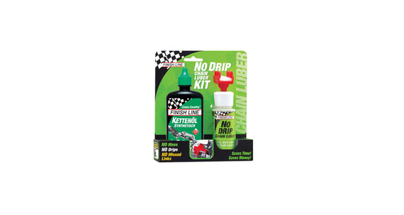 Finish Line No Drip Chain Luber Combo Wet Lube 120 ml